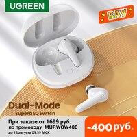 UGREEN HiTune T1 TWS Wahre Drahtlose Ohrhörer 4 Mikrofone Bluetooth Kopfhörer ENC HiFi Stereo in-Ohr Bass Up Modus USB-C Schnell Lade