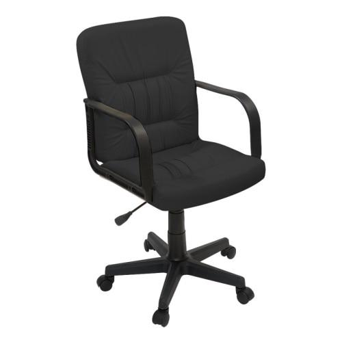 Компьютерное кресло ФАБРИКАНТ Чери А (Кожа иск., DO, №350(черный), ТГ, PL 600, PL, ролик ст.)|Офисные стулья| | АлиЭкспресс