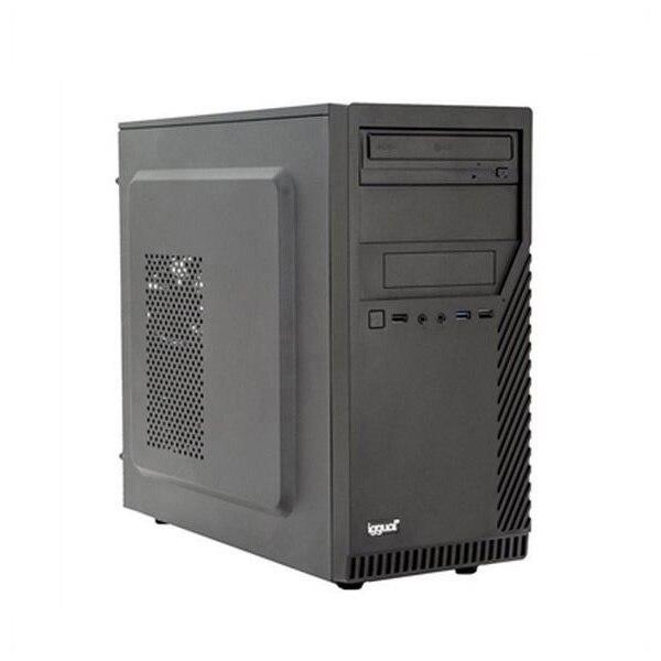 Desktop PC Iggual PSIPCH408 I3-8100 8 GB RAM 120 GB SSD Black