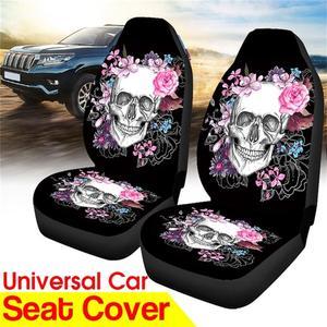 1/2 Pack Sugar Skull Car Seat