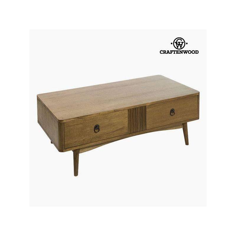 Coffee Table Teak Brown Mdf-the Collection Be Yourself By Craftenwood