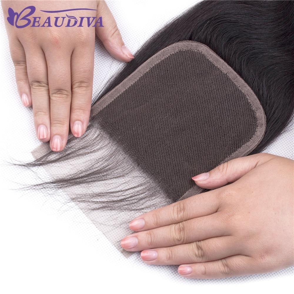 Ueba0a6580ae44ef5a57e0cd16ecbea60S BEAUDIVA Brazilian Hair Body Wave 3 Bundles With Closure Human Hair Bundles With Closure Lace Closure Remy Human Hair Extension