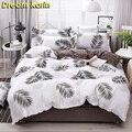 Короткие наборы пододеяльников  скандинавские детские постельные принадлежности  льняные простыни для кровати  двуспальные кровати корол...