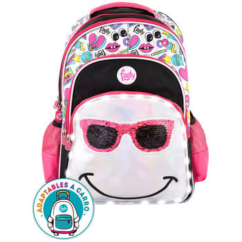 LED backpack sequins Glasses adaptive 45cm