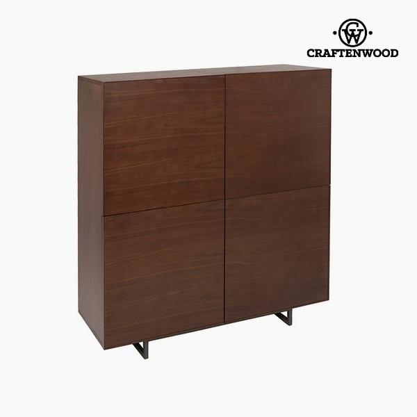 Sideboard Oak Wood Mdf (120 X 43 X 130 Cm) By Craftenwood