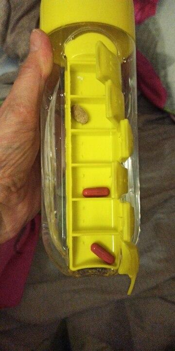 Vitamin Organizer Water Bottle