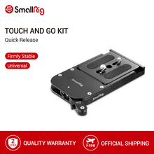SmallRig Touch and Go Quick Release Kit For Sachtler 16 /OConnor Euro 80mm /Ronford Baker RBQ 80mm   2128