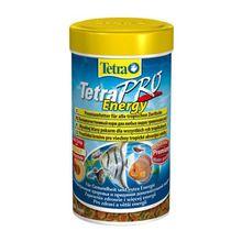 Корм для рыб TETRA PRO Energy корм-чипсы для всех видов рыб для доп.энергии 250мл