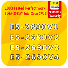 E5-2690 Processore Intel Xeon CPU Server di E5 2690 V4 V3 V2 Originale Officia/QS/ES Versione 20/25/30/35M 8/10/12/14 Cores 135W 14nm(China)