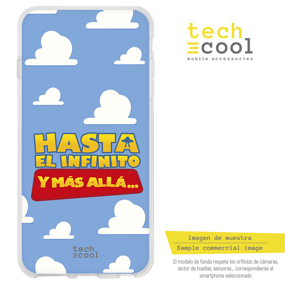 FunnyTech®Silicone Case for <font><b>Iphone</b></font> 6 /<font><b>Iphone</b></font> <font><b>6S</b></font> phrase <font><b>Toy</b></font> <font><b>Story</b></font>