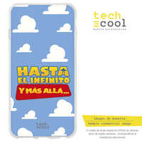 FunnyTech®Stand case for Huawei P Smart Plus 2019 L Frase Silicone Toy Story