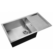 Мойка для кухни ZorG X-7844(Нержавеющая сталь, чаша с крылом, габаритные размеры 780х440 мм