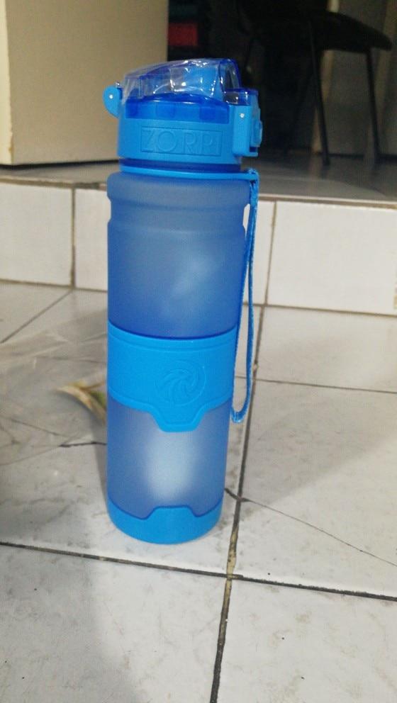 Best Sport Water Bottle TRITAN Copolyester Plastic Material Bottle Fitness School Yoga For Kids/Adults Water Bottles With Filter-in Water Bottles from Home & Garden on AliExpress