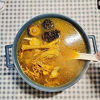 黄金滋补的虫草花炖鸡汤的做法图解14