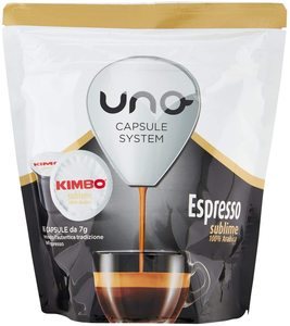 Kimbo coffee Capsules Compatible system capsules ONE-Expressed Sublime (6x16 capsules)