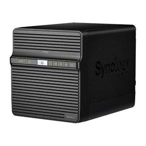 NAS сетевое хранилище Synology DS420j четырехъядерный 1 Гб RAM USB 3,0 LAN черный