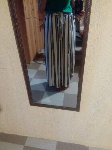 Simplee Split striped lady wide leg pants women Summer beach high waist trousers Chic streetwear sash casual pants capris female wide leg pants high waist trouserspants women summer - AliExpress