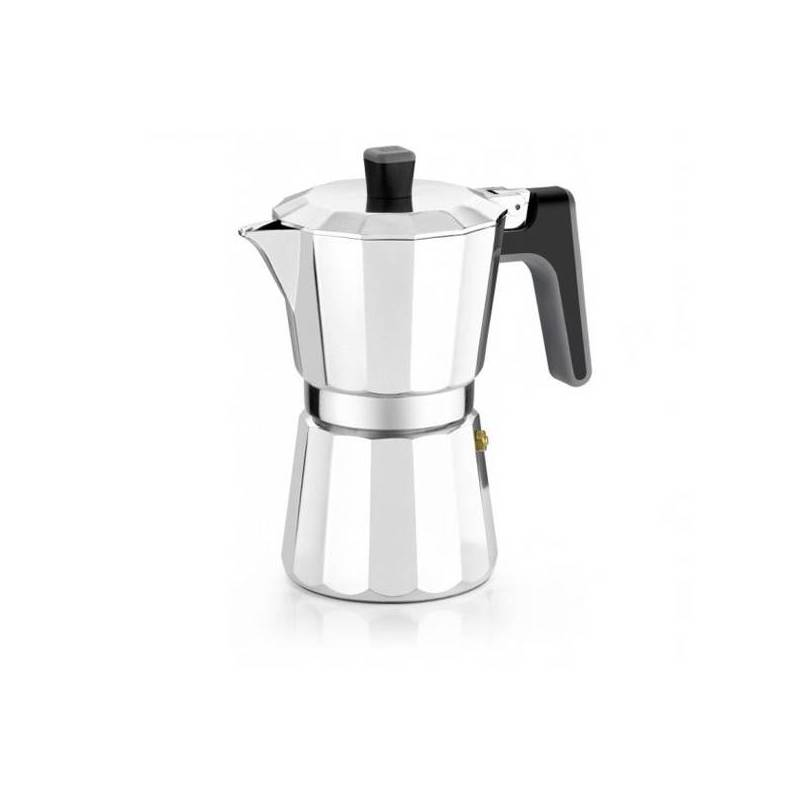 Italian Coffee Maker BRA 8559 (12 Cups) Aluminum