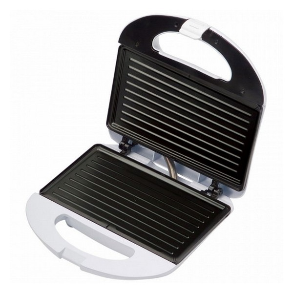 Sandwich Toaster Grill COMELEC SA1205B 700W White image
