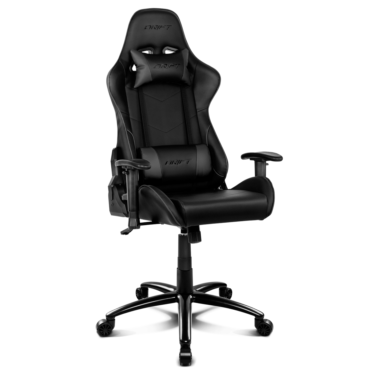 Gaming chair Drift DR125B office desk recliner Black on AliExpress