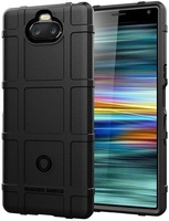 Case Sony Xperia 10 color Black (Black), Armor Series, caseport