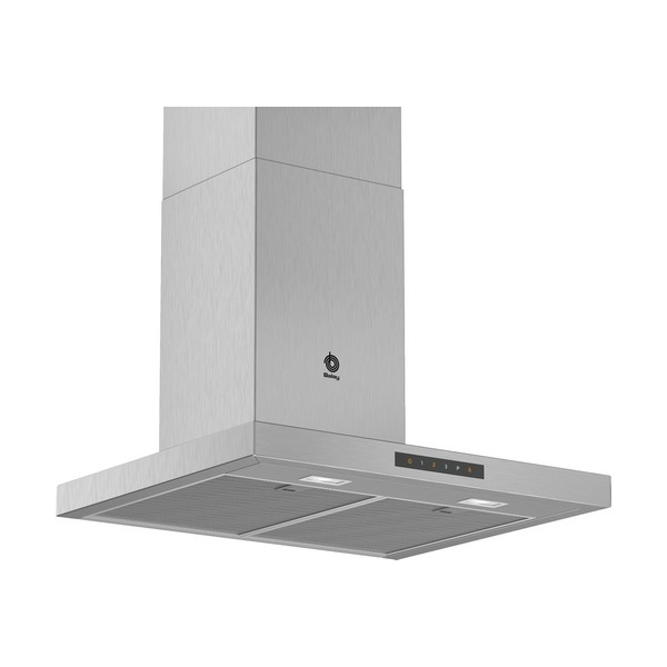 Conventional Hood Balay 3BC967GX 60 Cm 671 M³/h 140W A Stainless Steel