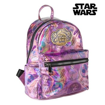 10000250257564 - Shop5790547 Store - Mochila Casual Star Wars 72826 Lila Metalizado
