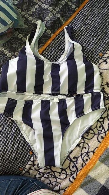 Women's Swimming Suit Sexy Bikini Swimsuit 2020 Swimwear Women's Striped Bikini Beachwear Swimsuit Push up Swimwear Bikini Set    - AliExpress