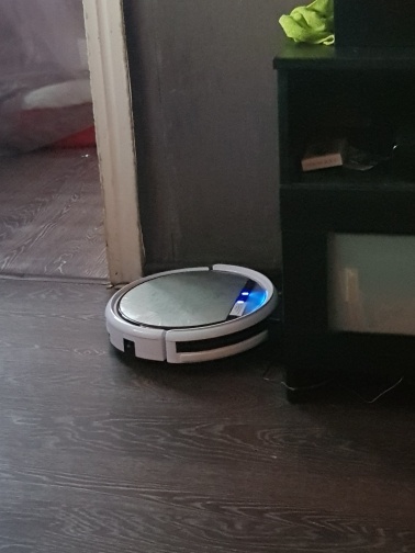 Robot vacuum cleaner  ILIFE V50 для сухой уборки-in Vacuum Cleaners from Home Appliances on AliExpress