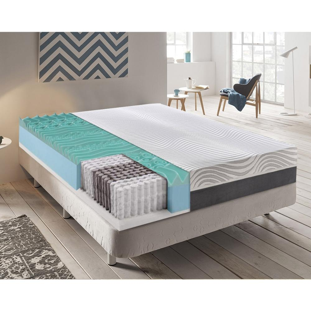 MaterassieDoghe-pocket Spring Mattress Independent And Memory 9 Different Zones