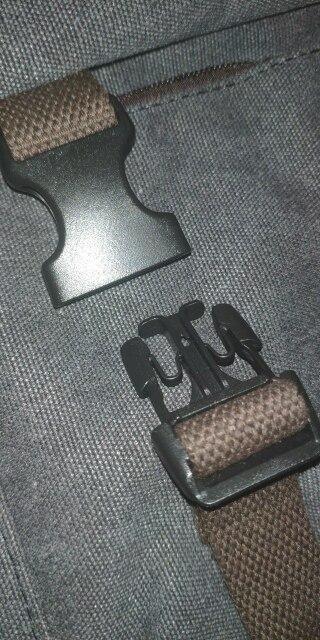 Water-resistant vintage men's handbag
