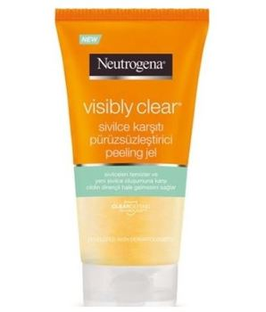 Neutrogena visible clear anti-acne smoothing peel 150 ml 1