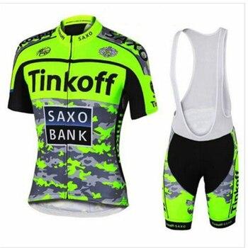 2020 Tinkoff Saxo Bank verano pro equipo al aire libre ciclismo jersey...