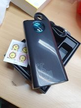 received in good condition.. superfast shipping.. genuine baseus powerbank.. already teste