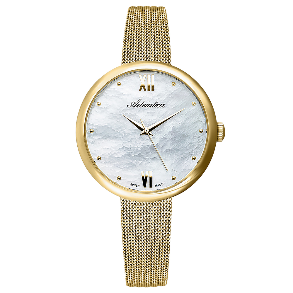 Women's Watch A3632.118fq On A Steel Bracelet With PVD Coated Mineral Glass SUNLIGHT