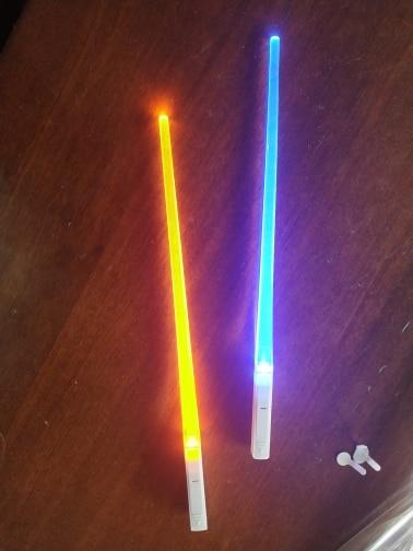 Laser Sword Chopsticks (2Pcs/Pair) photo review