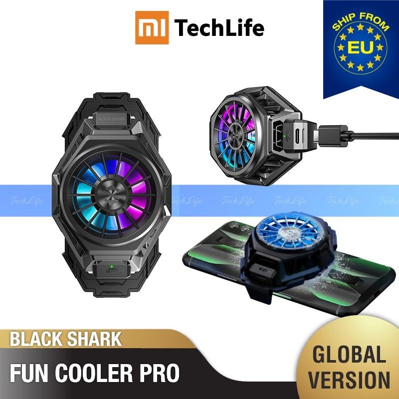Original Black Shark Fun Cooler Pro Liquid Cooling (Brand New / Sealed) Smart Phone Cooler, BR20, Type-c, 6200rpm RGB