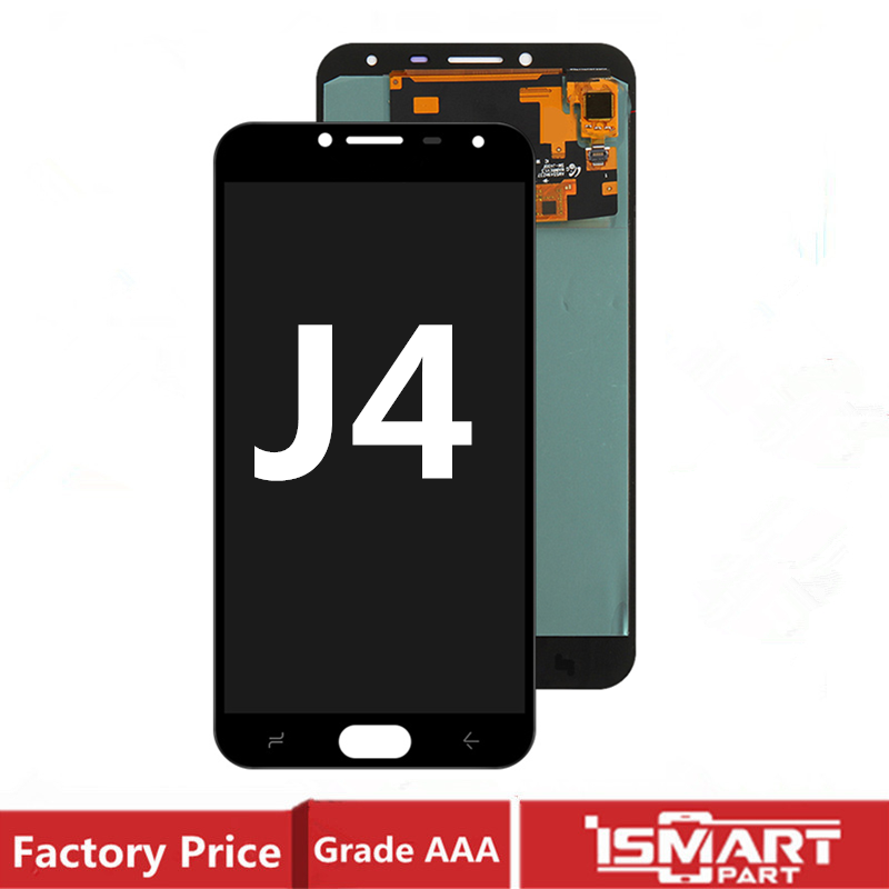 AMOLED LCD For <font><b>Samsung</b></font> <font><b>Galaxy</b></font> <font><b>J4</b></font> LCD <font><b>Display</b></font> Touch Screen Digitizer Assembly J400 Sm-j400F/DS image