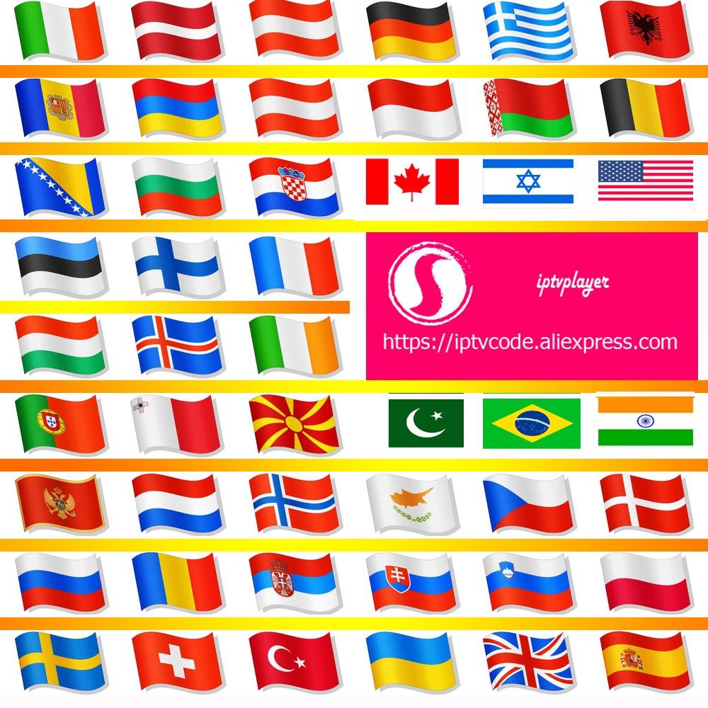 HD IPTVplayer IPTV 8000+ Live Xxx VOD 4K Europe Dutch Israel Spain Portugal Itlay Arabic USA IPTV Subscription Smart IPTV M3U