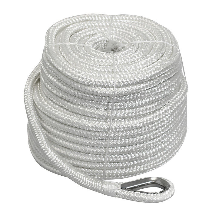 Rope Anchor D12мм, L45м White Braided STALW05