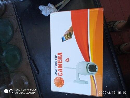 Caméra motorisé 3G/4G ou WIFI HD (1080P) à vision nocturne