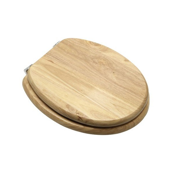 Toilet Lid Lifelike Wood