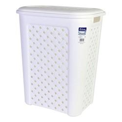Kosz na pranie Arianna Tontarelli 50 L biały (44X35x55 cm)|Składane torby do przechowywania|   -