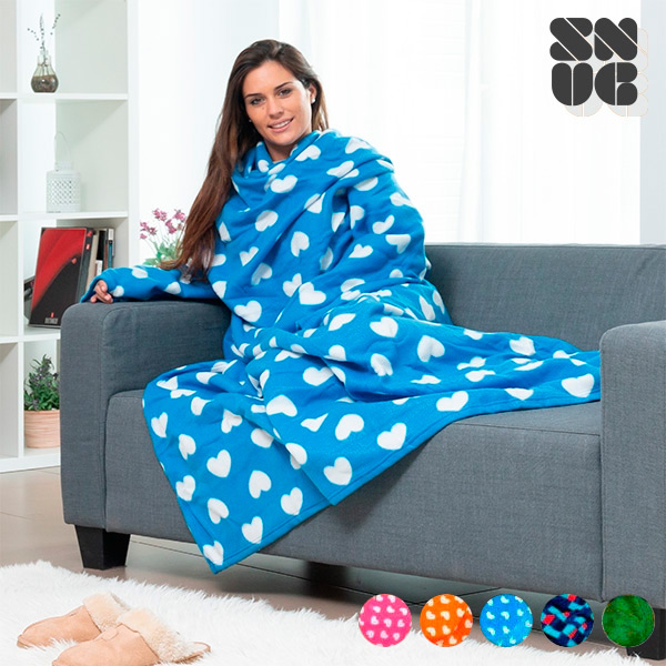 Extra Soft Snug Snug Blanket With Sleeves For Adults | Original Patterns
