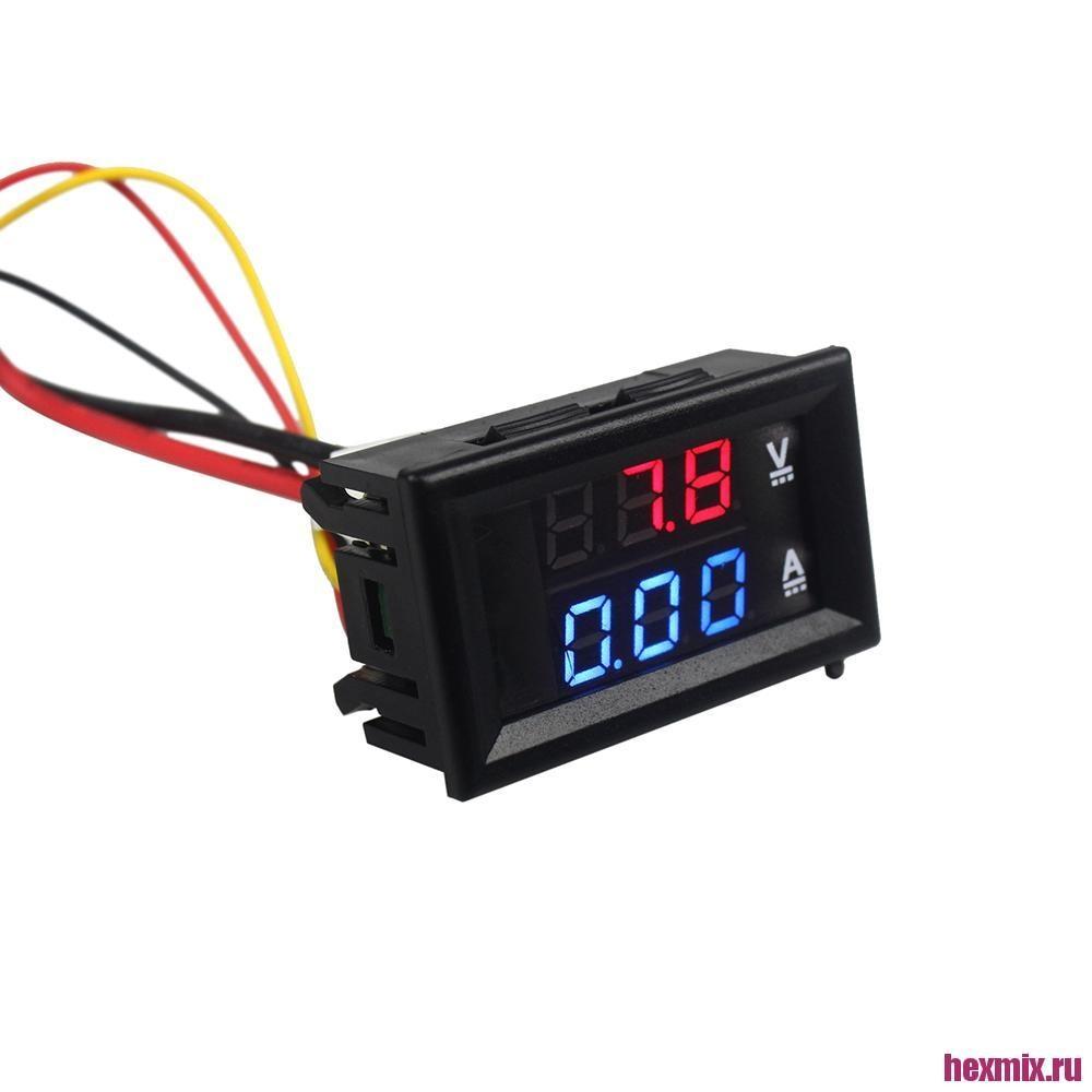 Digital Voltmeter Ammeter DC 100 V 10A