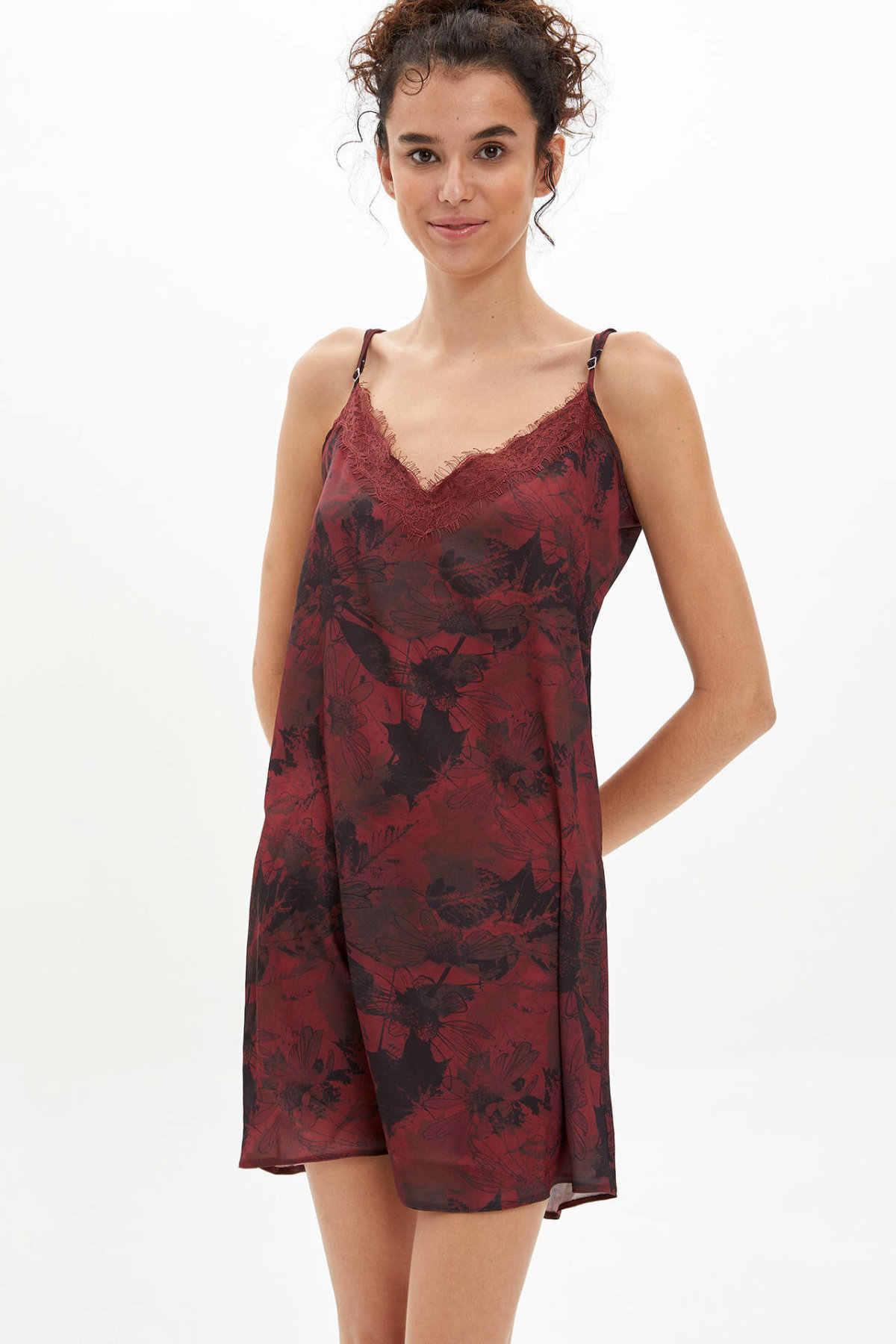 Mini pijama de verano de mujer corto con estampado Casual y escote en V de deacto Sexy-M5454AZ19AU