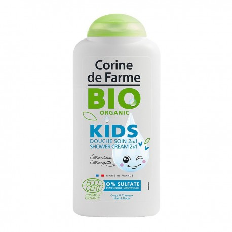 CORINE DE FARME BIO ORGANIC KIDS CREAM BATH 300ML SULFATE