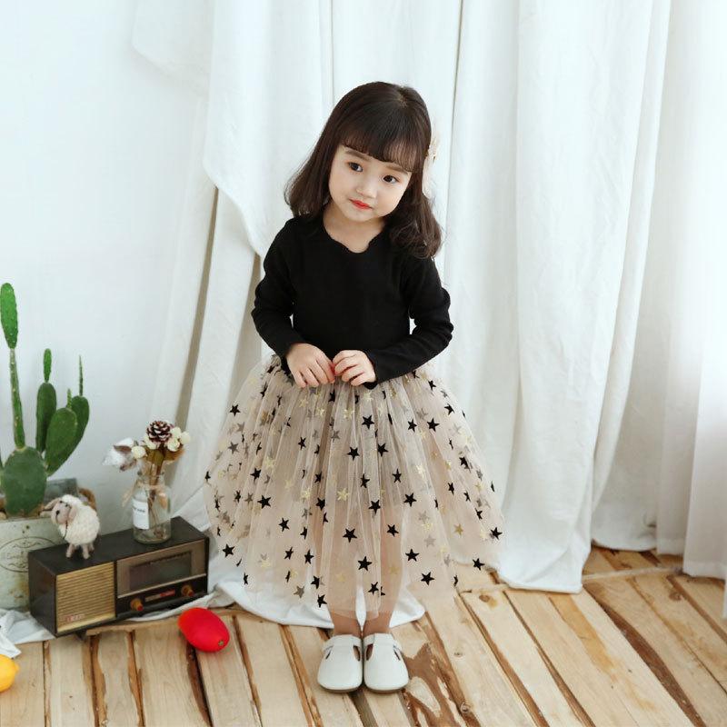 Uec51fe3343254c1cbf4f832582365ebbc Brand Girls Clothes Super Star Design Baby Girls Dress Party Dress For Children Girls Clothing Tutu Birthday 3-8 Years Vestidos