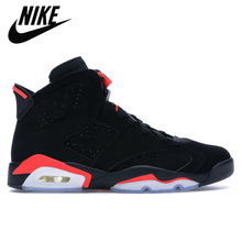 Basketball-Shoes Sports-Sneakers Jordan Retro Nike Air Infrared Women Black Outdoor 6