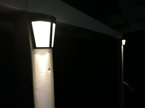 Lâmpadas solares Controle Energia Poupança